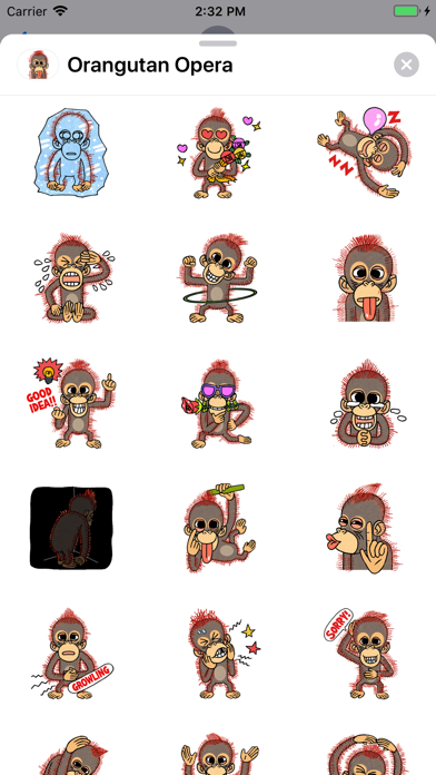 Orangutan Opera screenshot 2