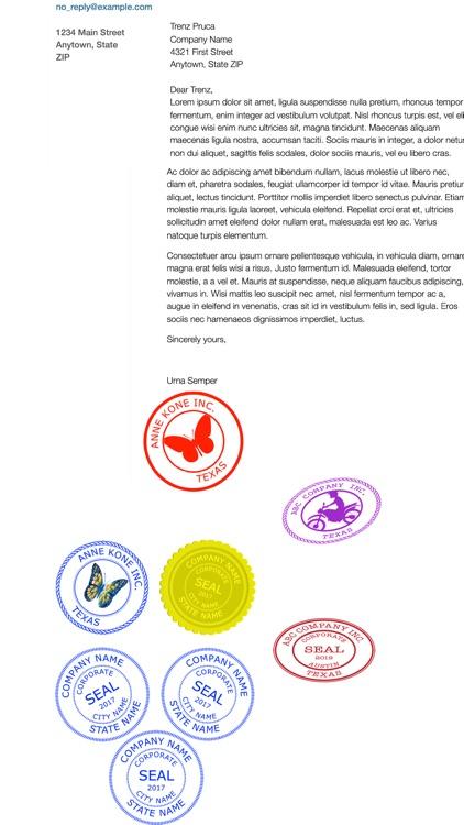 Company Seals screenshot-6