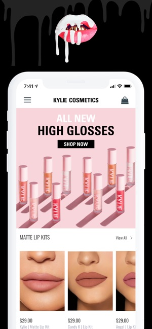 Kylie Cosmetics on the App Store