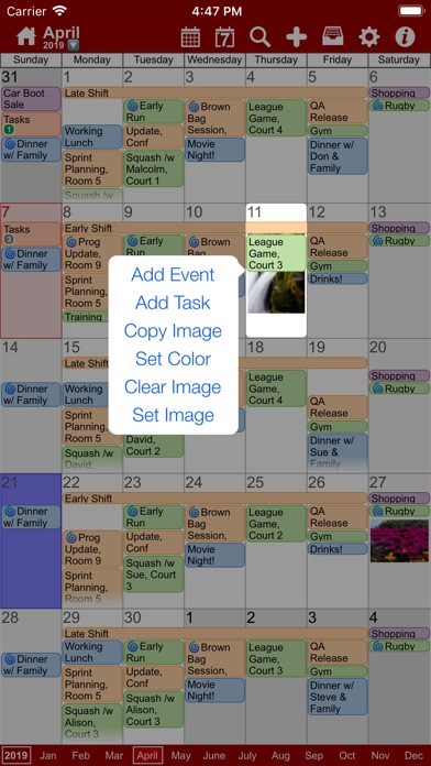Screenshot #3 pour myCal PRO: Calendar & Events