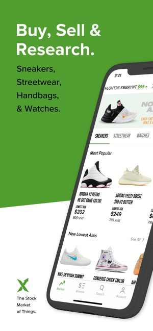 341d43ec StockX - Buy & Sell Authentic on the App Store