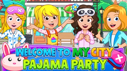 My City : Pajama Party screenshot 1