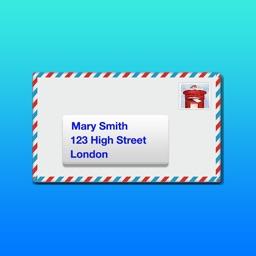 Address Labels for CardLists