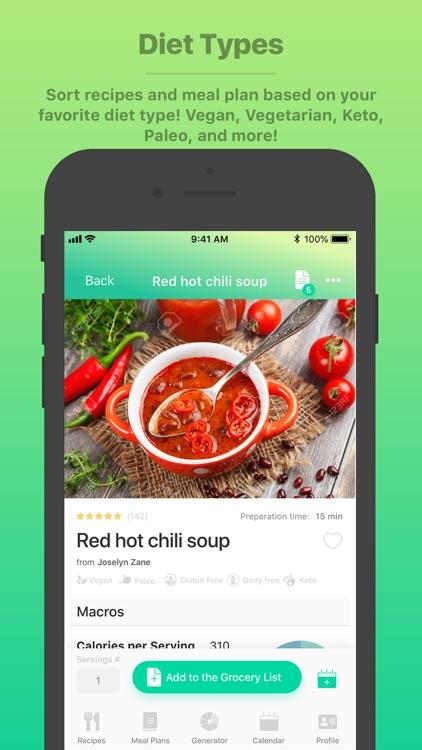 Burst Menu - Meal Planner screenshot-7