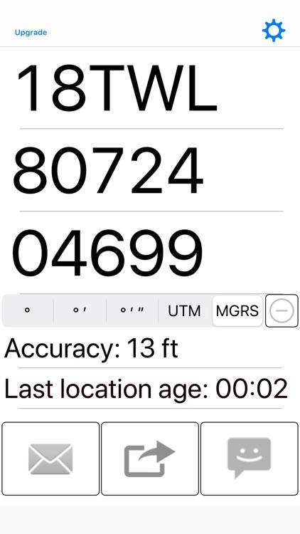 My GPS Coordinates screenshot-4