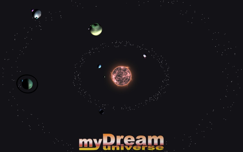 myDream Universe screenshot 1