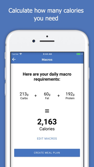 Screenshot for Macro Plan in Saudi Arabia App Store