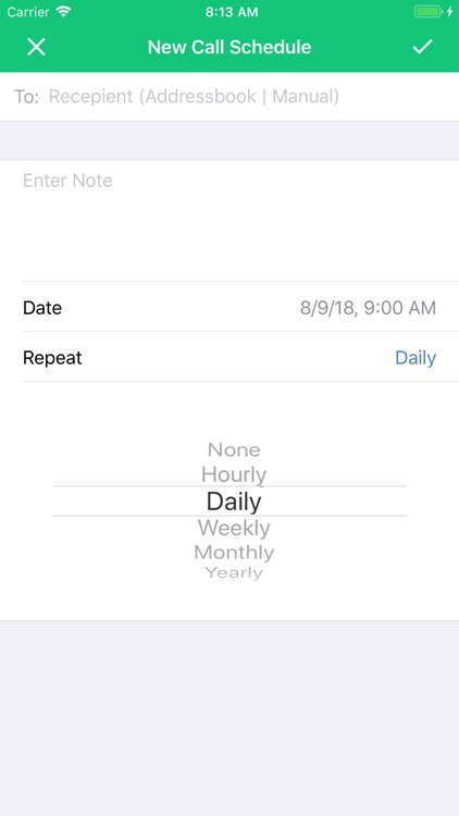 Call Scheduler and Reminder screenshot-3