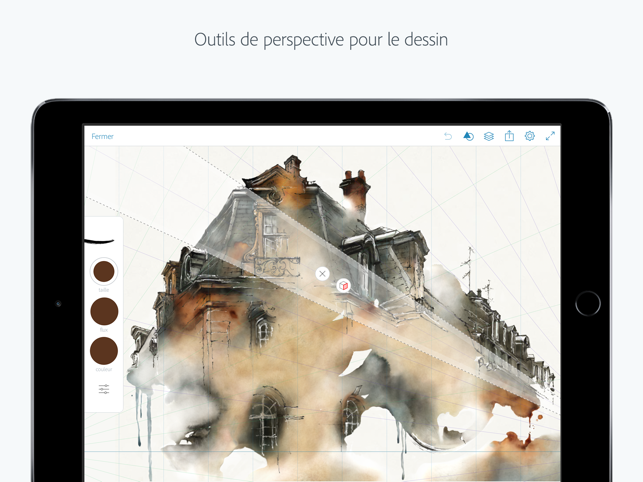 ‎Adobe Photoshop Sketch Capture d'écran