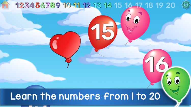 Kids Balloon Pop Language Game screenshot-3