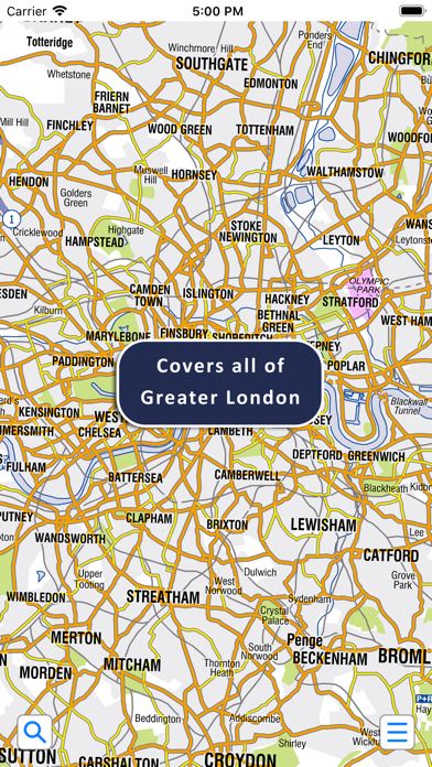 Greater London A-Z Map 19 Screenshot