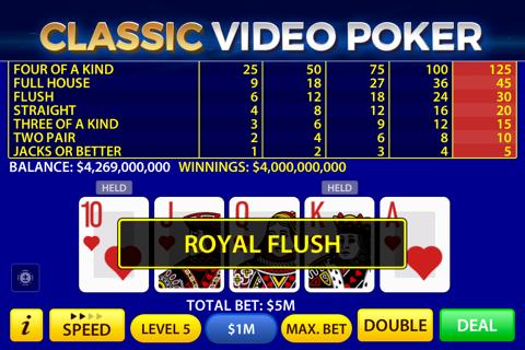 Video Poker by Pokerist - náhled