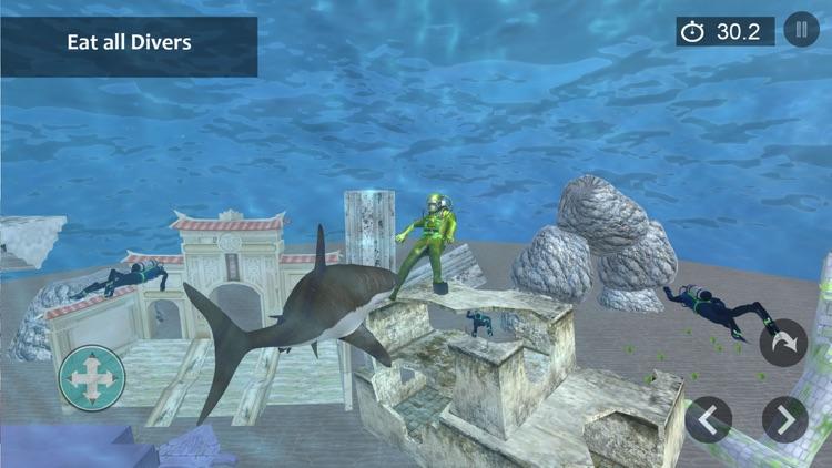 Angry Shark Attack Shark Games screenshot-3