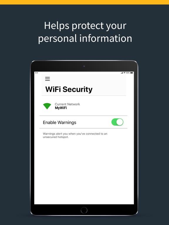 iPad Image of Norton Secure VPN - Proxy VPN