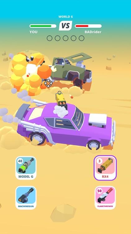 Desert Riders - Wasteland Cars screenshot-0