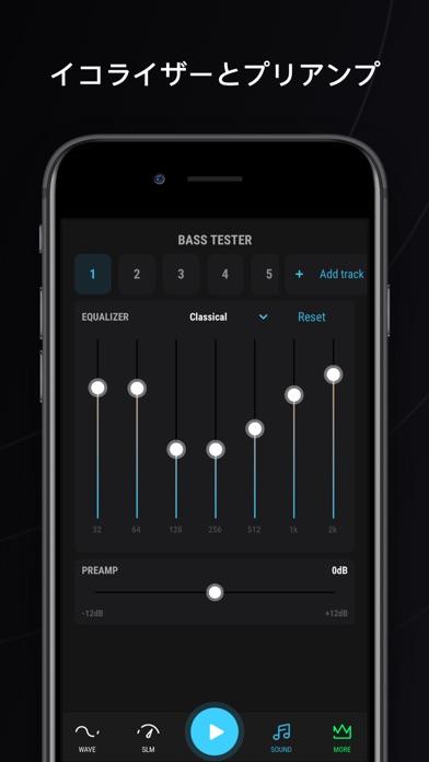 ベース・テスター:音量の測定と調整のおすすめ画像4