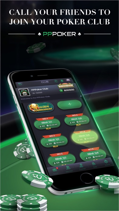 PPPoker-Holdem, Omaha, OFC Screenshot