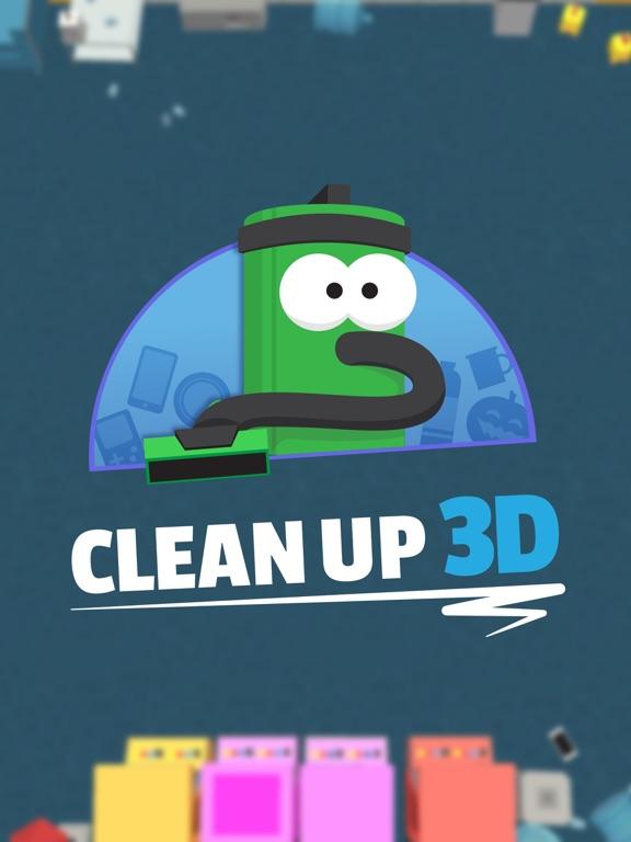 Игра Clean Up 3D