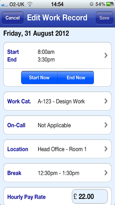 Pay Diary Pro screenshot two