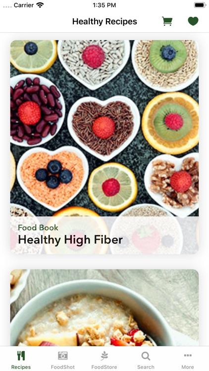 Healthy Recipe Book : FitMe screenshot-3