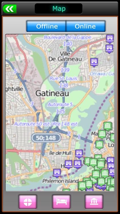 Ottawa Offline Map Guide screenshot-3