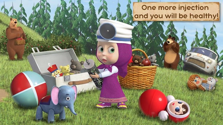 Masha and the Bear: Toy doctor screenshot-3