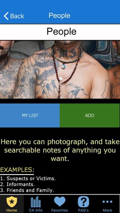 Pocket Brainbook for Police! screenshot-7