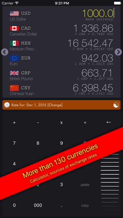 GetRate Currency Exchange Rate