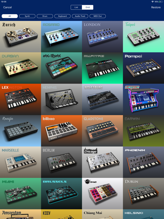 KORG Gadget 2 IPA Cracked for iOS Free Download