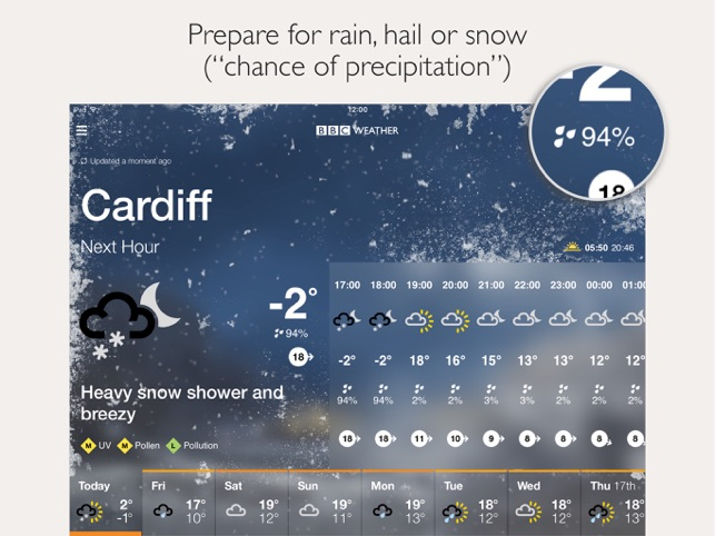 BBC Weather on the App Store