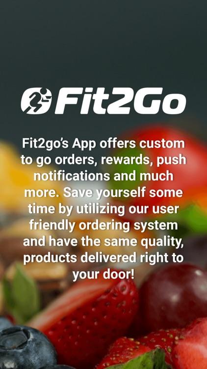 Fit2Go- Meals to your door! screenshot-4
