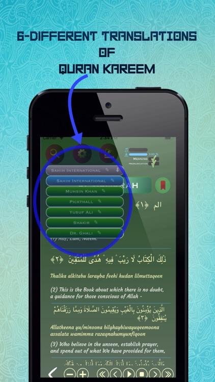 Offline Quran Audio Reader Pro screenshot-3