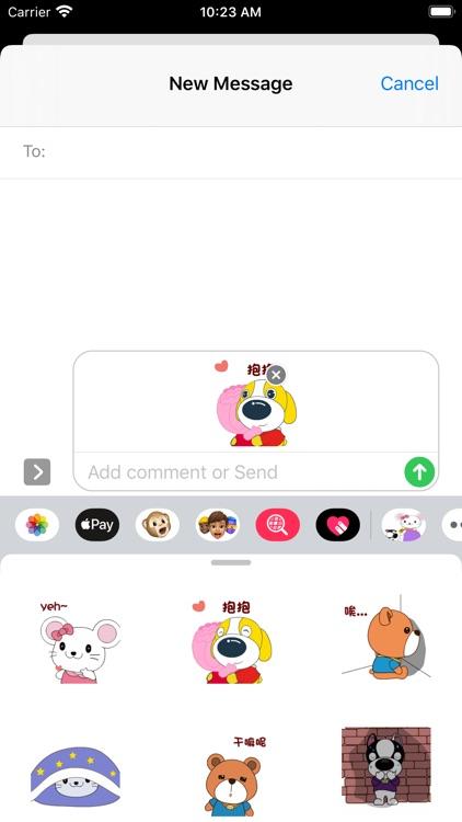Animal League-Emoji screenshot-4
