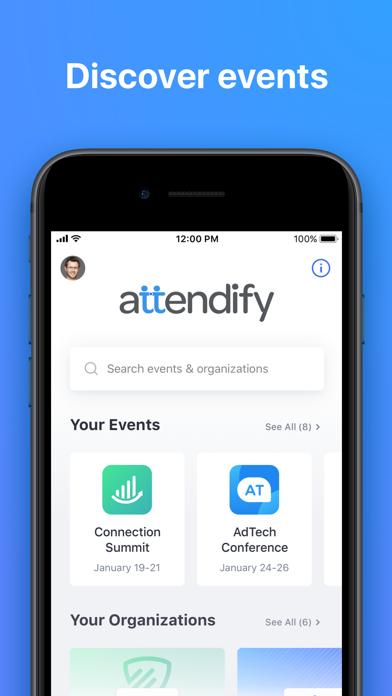 Attendify screenshot one