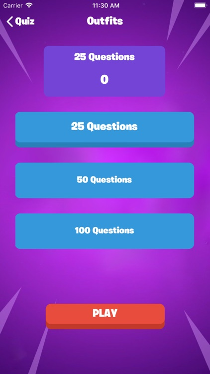 QuizFort - Quiz for Fortnite