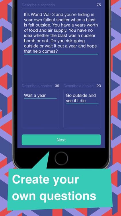 Scenario Game-Would You Rather screenshot-3