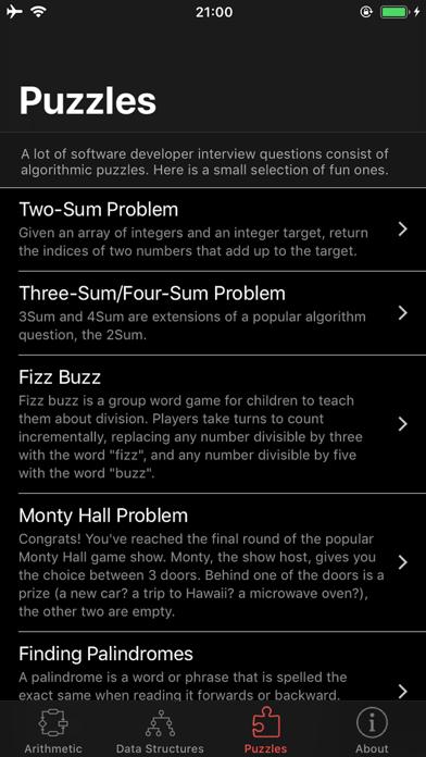 Arithmetic screenshot #3