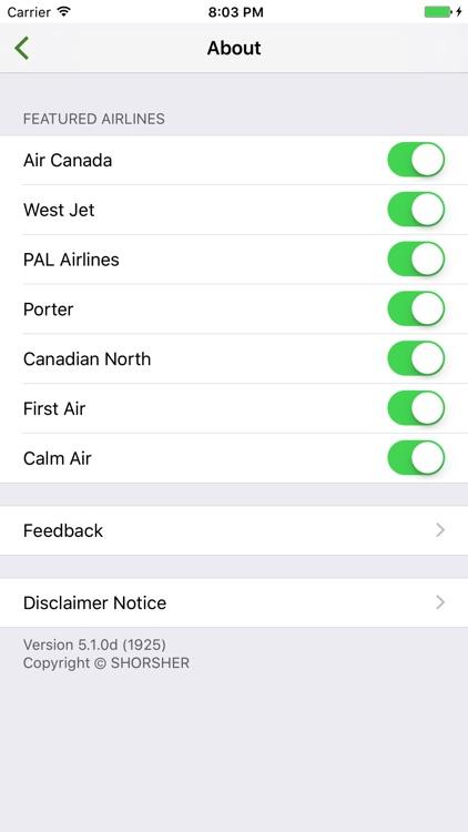Canada Flight Lite screenshot-3