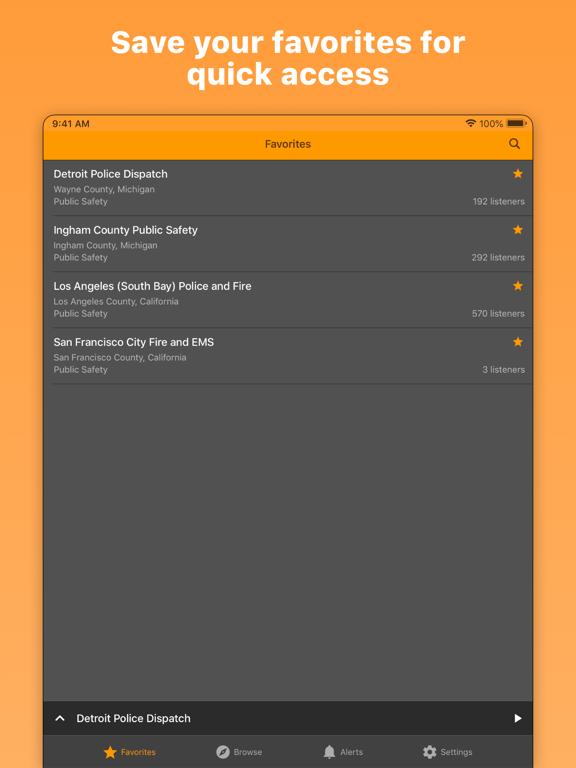 iPad Image of Police Scanner Radio & Fire
