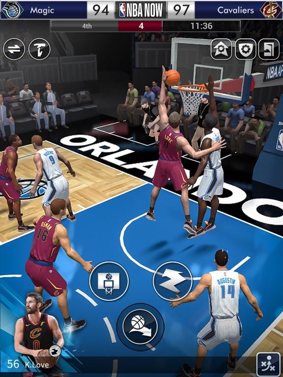 NBA NOW Mobile Basketball Game screenshot 11