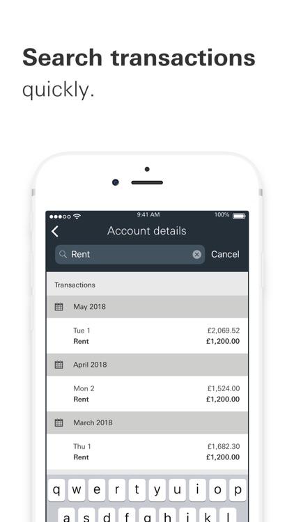 HSBC UK Mobile Banking screenshot-4