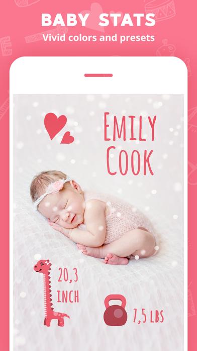 Lil Pics: Baby Photo Editorのおすすめ画像4