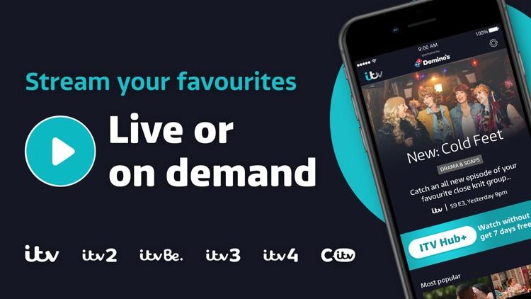 ITV Hub: TV Player & Catchup screenshot-0
