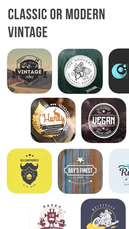 Logo Maker | Vintage Logo screenshot-4