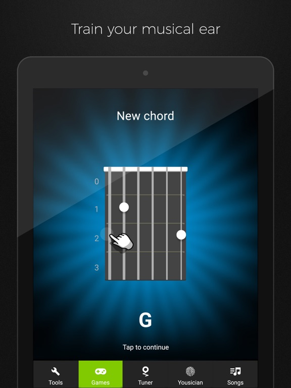 Screenshots for GuitarTuna: Guitar, Bass tuner