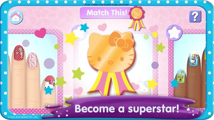 Hello Kitty Nail Salon screenshot-4