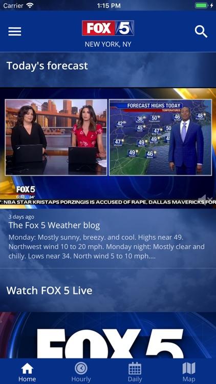 FOX 5: NY Weather & Radar