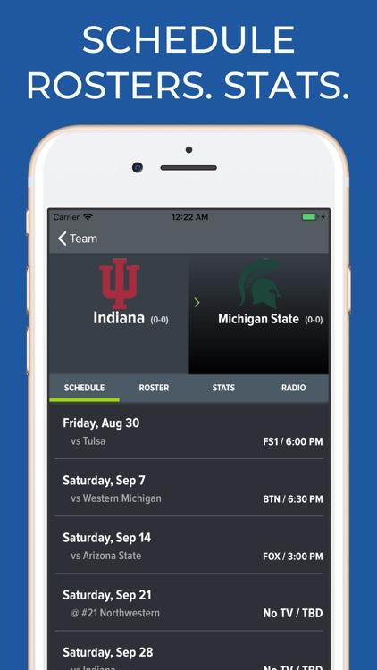 Indiana Football Schedules screenshot-9