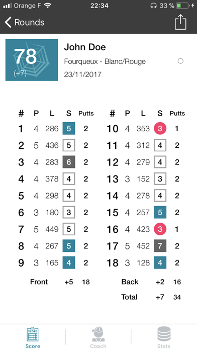 Spider Golf Screenshot