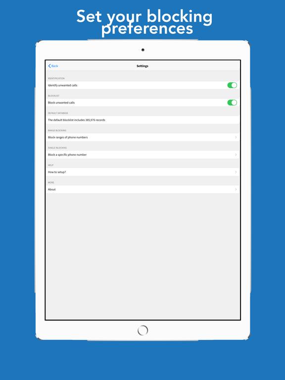 Call Ranger: Block area prefix Screenshots